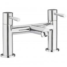 Nuie Series 2 Bath Filler Tap Pillar Mounted - Chrome