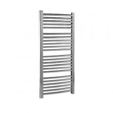 Premier Curved Ladder Towel Rail 1100mm H x 500mm W - Chrome