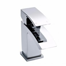 Premier Vibe Midi Mono Basin Mixer Tap Single Handle With Waste - Chrome