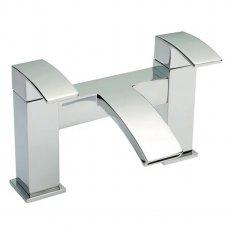Nuie Vibe Bath Filler Tap, Pillar Mounted, Chrome