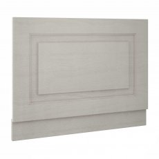 Nuie York Bath End Panel 560mm H x 700mm W - Woodgrain Grey