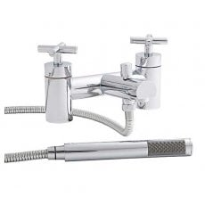 Prestige Honduras Bath Shower Mixer Tap Deck Mounted - Chrome