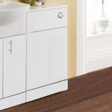 Prestige Hydras WC Unit with Concealed Cistern 500mm Wide White