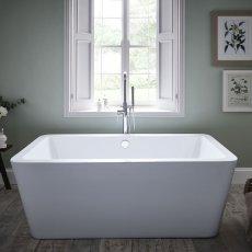 Prestige Options Modern Freestanding Bath 1700mm x 800mm - Acrylic