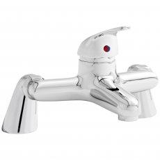 Prestige Trinidad Bath Filler Tap Pillar Mounted - Chrome