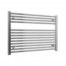 Radox Premier Horizontal Heated Towel Rail 600mm H x 800mm W Chrome