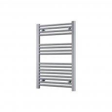 Radox Premier Flat Straight Heated Towel Rail 600mm H x 300mm W - White