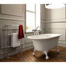 Radox Taurus Radiator Heated Towel Rail 965mm H x 673mm W Chrome/White