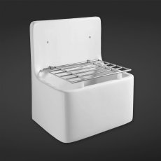 RAK Cleaner Sink 1.0 Bowl 520mm W - White
