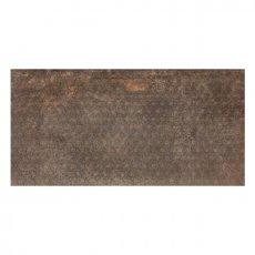 RAK Evoque Metal Lapatto Decor Tiles - 600mm x 1200mm - Brown (Box of 2)