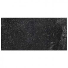 RAK Fashion Stone Lappato Tiles - 300mm x 600mm - Black (Box of 6)