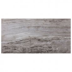 RAK Glam Marble Full Lappato Tiles - 600mm x 1200mm - Light Grey (Box of 2)