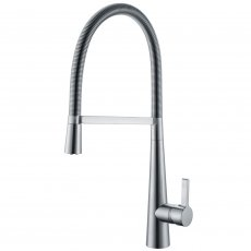 RAK Pull Out Kitchen Sink Mixer Tap Side Lever - Chrome