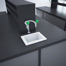 RAK Laboratory 1 Ceramic Belfast Kitchen Sink 1.0 Bowl 360mm L x 280mm W - White