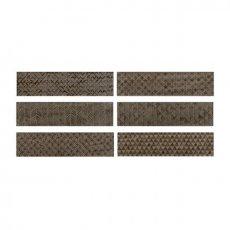 RAK Loft Brick High Gloss Decor Tiles - 65mm x 260mm - Brown (Box of 41)