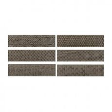 RAK Loft Brick High Gloss Decor Tiles - 65mm x 260mm - Light Greige (Box of 41)
