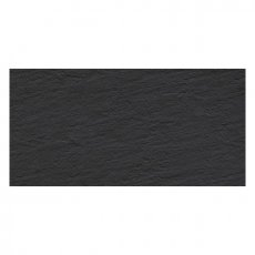 RAK Lounge Rustic Tiles - 300mm x 600mm - Black (Box of 6)