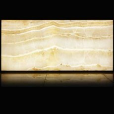 RAK Luce Full Lappato 6mm Translucent Tiles - 1200mm x 2600mm - Onyx Ivory (Box of 1)