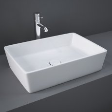 RAK Moon Sit-On Countertop Basin 500mm Wide - 0 Tap Hole