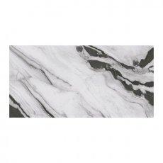 RAK Panda Marble Full Lappato Tiles - 1200mm x 2400mm - White (Box of 1)
