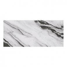 RAK Panda Marble Full Lappato Tiles - 1350mm x 3050mm - White (Box of 1)