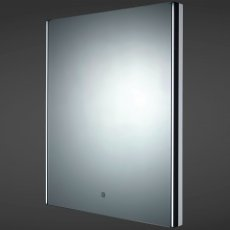 RAK Resort LED Mirror with Demister Pad and Shaver Socket 700mm H x 550mm W