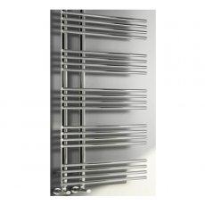 RAK Sagrada Designer Heated Towel Rail 1000mm H x 500mm W - Chrome