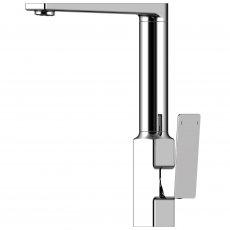 RAK Square Kitchen Sink Mixer Tap - Side Lever