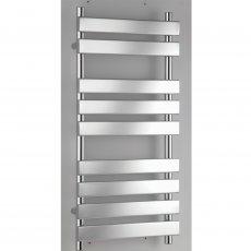 RAK Temple Flat Panel Heated Towel Rail 1300mm H x 500mm W - Chrome