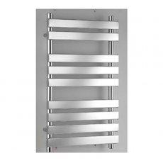 RAK Temple Flat Panel Heated Towel Rail 950mm H x 500mm W - Chrome