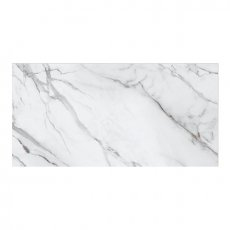 RAK Versilia Marble Full Lappato Tiles - 1200mm x 2400mm - White (Box of 1)