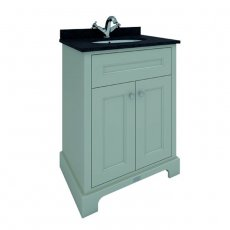 RAK Washington Traditional Floor Standing 2 Door Vanity Unit 600mm Wide - Greige