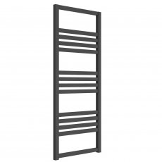 Reina Bolca Designer Heated Towel Rail 1200mm H x 485mm W Anthracite