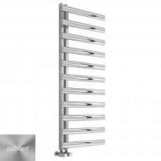 Reina Cavo Designer Heated Towel Rail 530mm H x 500mm W Polished Stainless Steel