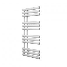 Reina Chisa Designer Heated Towel Rail 820mm H x 500mm W White