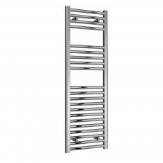 Reina Diva Electric Straight Heated Towel Rail 1200mm H x 400mm W Chrome