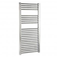 Reina Diva Straight Heated Towel Rail 1800mm H x 600mm W Chrome