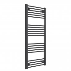Reina Divale Straight Heated Towel Rail 1200mm H x 530mm W Anthracite