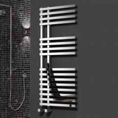 Reina Felino Designer Heated Towel Rail 775mm H x 500mm W Chrome