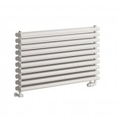 Reina Nevah Double Designer Horizontal Radiator 590mm H x 1000mm W RAL