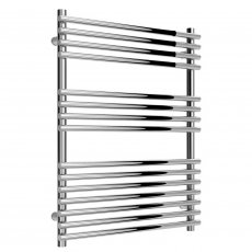 Reina Pavia Designer Heated Towel Rail 800mm H x 600mm W Chrome