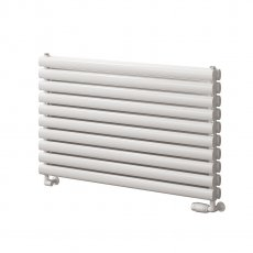 Reina Roda Double Designer Horizontal Radiator 590mm H x 600mm W White