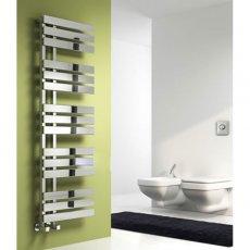 Reina Sesia Designer Heated Towel Rail 860mm H x 500mm W Chrome