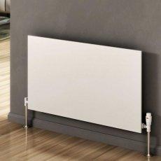 Reina Slimline Horizontal Designer Radiator 600mm H x 1000mm W White