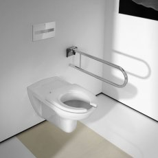 Roca Access Wall Hung Toilet 700mm Projection - Standard Seat