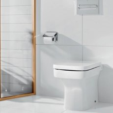Roca Dama-N Back to Wall Toilet, 520mm Projection, Standard Seat