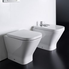 Roca The Gap Eco Back to Wall WC Pan 540mm Projection - Excluding Seat