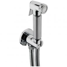 Sagittarius Deluxe Douche Kit with Hose Outlet Including 1.5m Shower Hose and Wall bracket