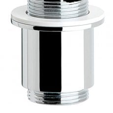 Sagittarius Short Basin Waste Shroud for Slotted Waste - Chrome