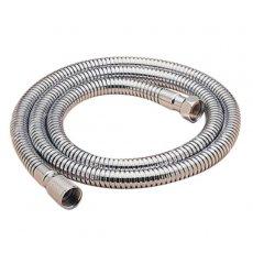 Sagittarius 12mm Conical End Double Interlock Shower Hose 1.5m - Chrome